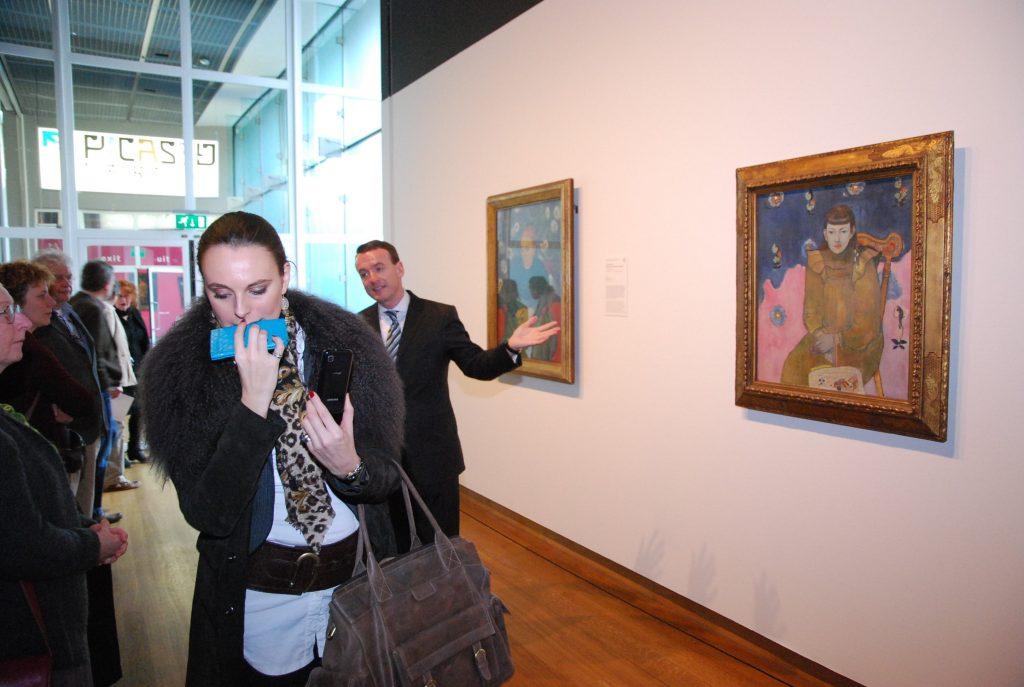 van gogh museum pressday