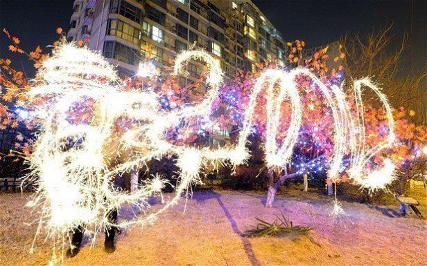 Beijing fireworks photo:telegraph.co.uk