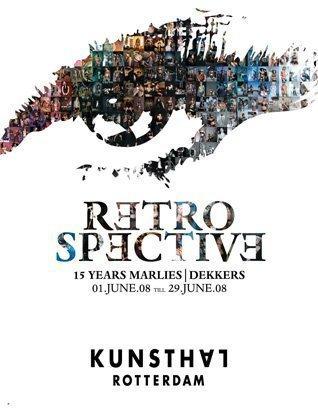 kunsthal affiche 15 year retrospective