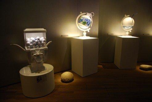 globe installation at future pass