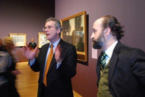 Curators Richard Thomson and Rodolphe Rapetti